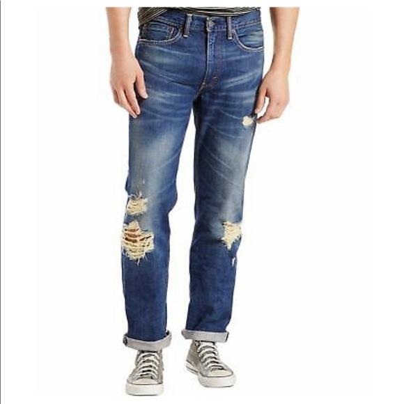 Levi's Ripped Men's Jeans
